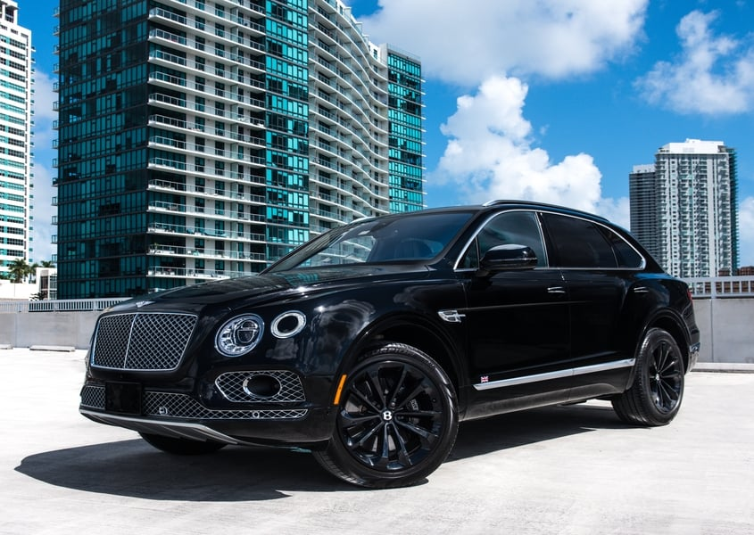 Bentley Bentayga Rental Miami