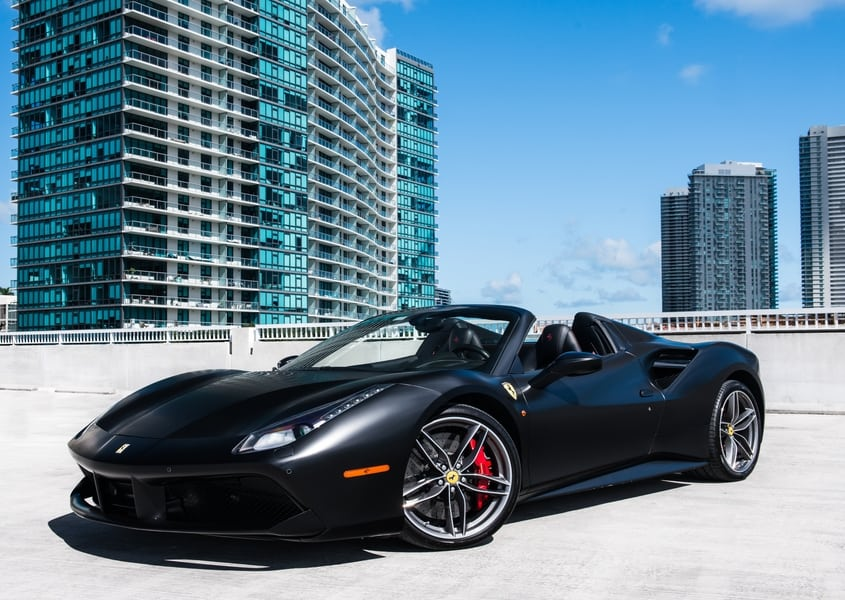 Ferrari 488 Spider Rental Miami