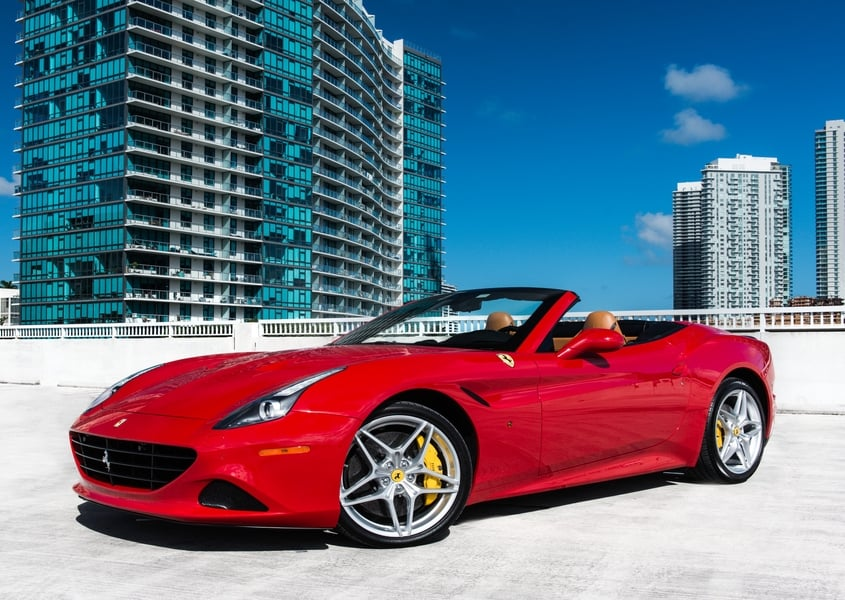 Ferrari California Rental Miami