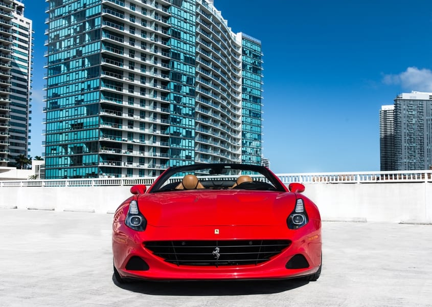 Ferrari California T for rent