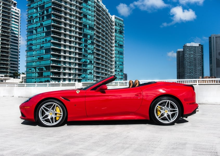 Ferrari California for rent in Miami