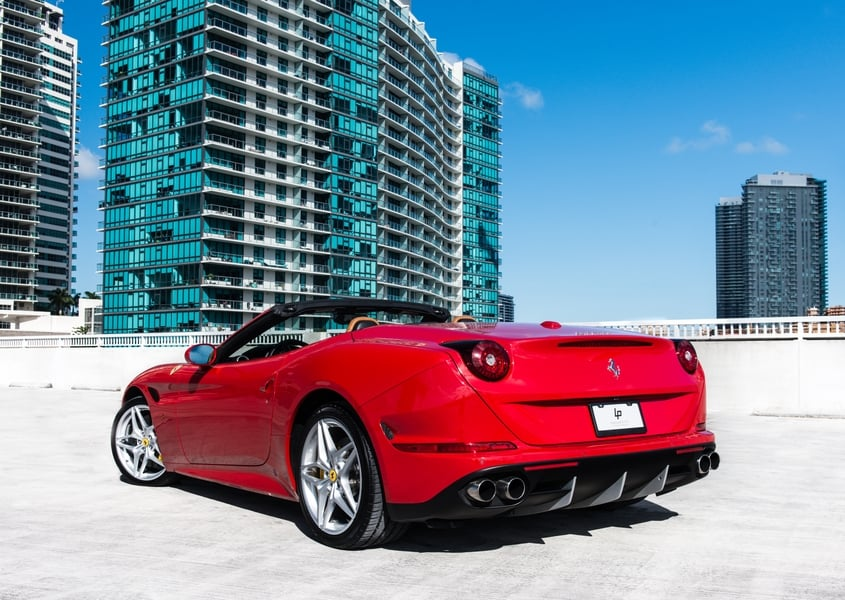 For rent Ferrari California T