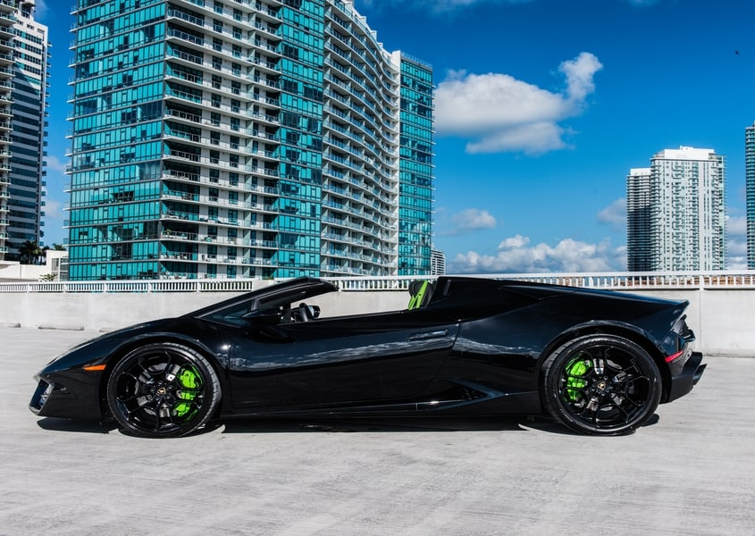 Lambo for rent in Ft. Lauderdale
