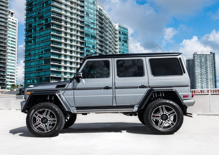 Mercedes Benz G550 Rental