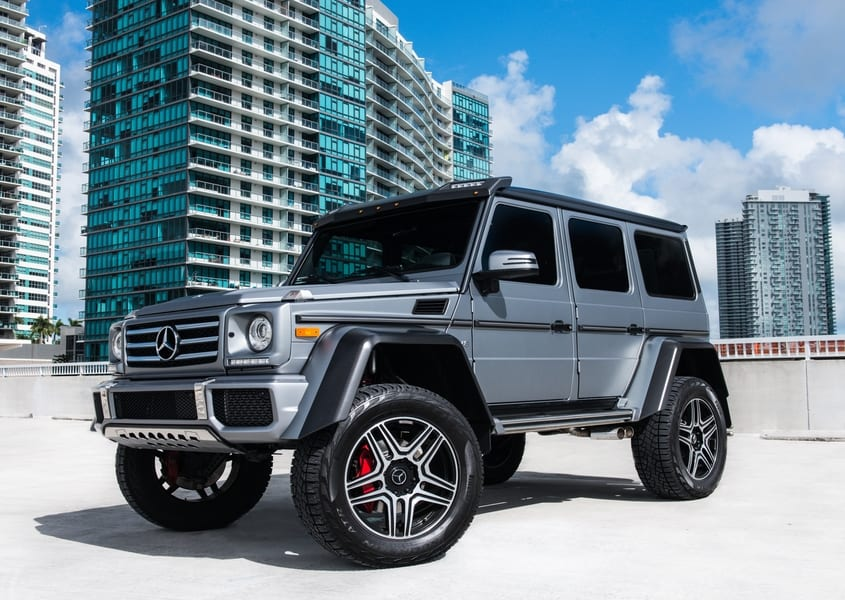 Mercedes Of Miami >> Mercedes Benz G550 4x4 Squared