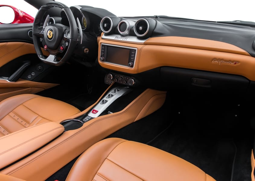 Rent Ferrari california T in Miami