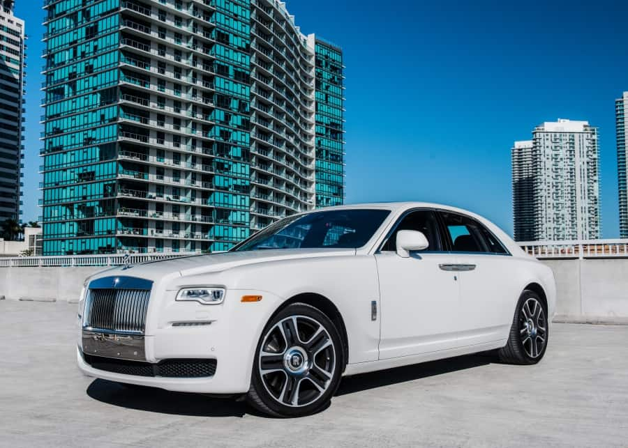 Roll Royce Ghost Rental Miami