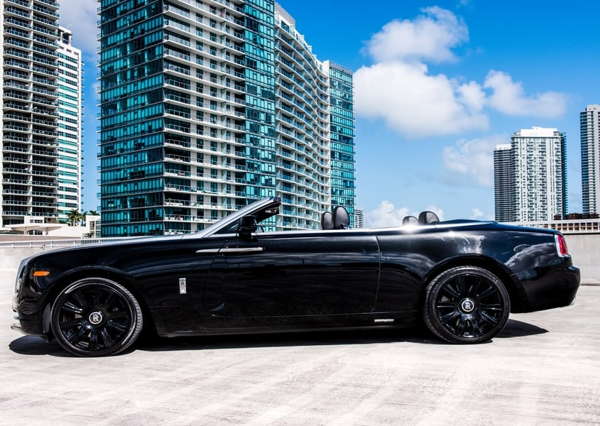 Rolls Royce Dawn rental