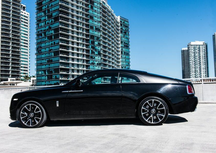 Rolls Royce Wraith rentals