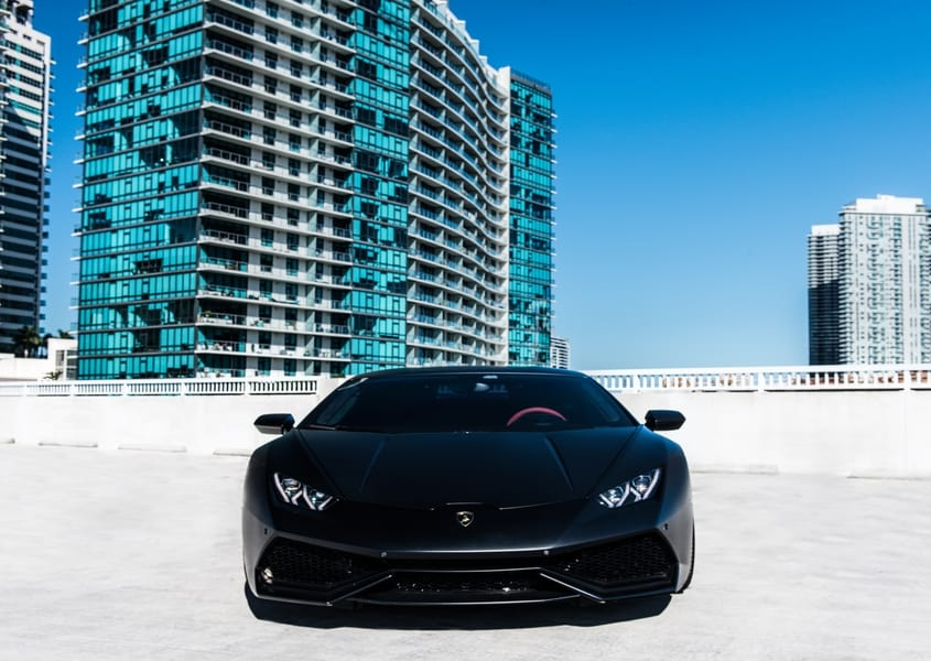 South beach lambo rental