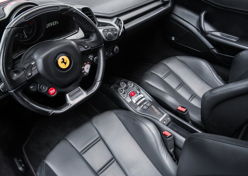 ferrari 458 rental price