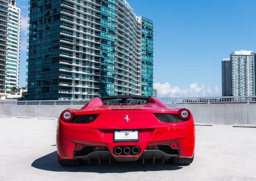 ferrari rental price