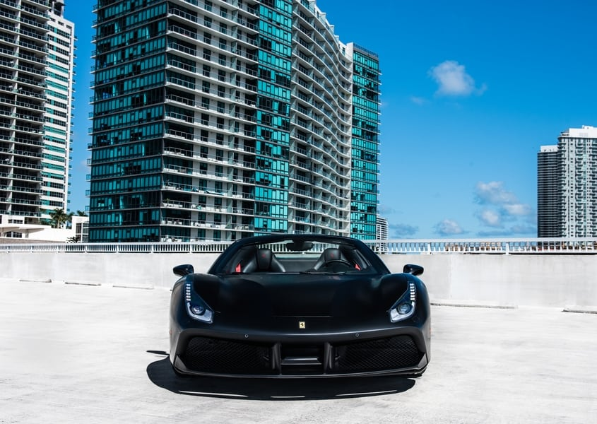 rent ferrari 488 spider in miami