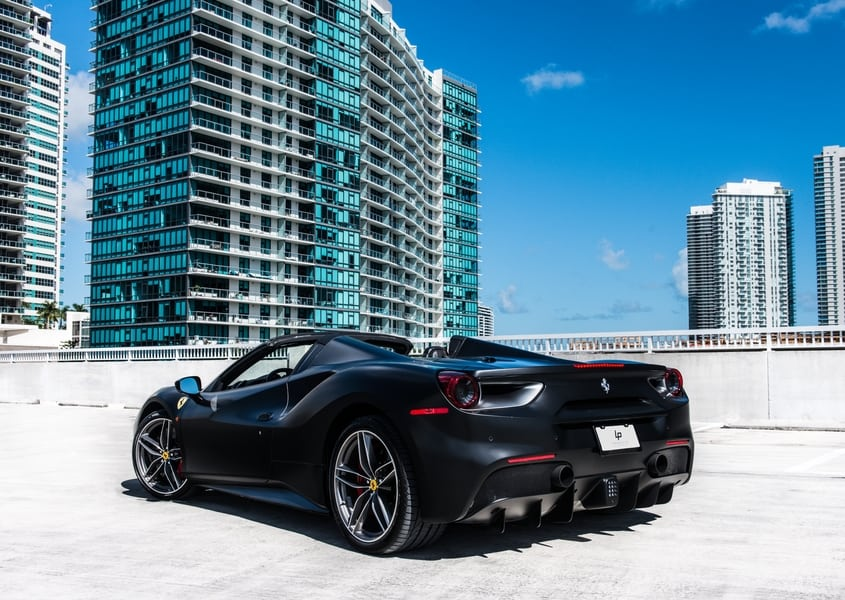rent ferrari 488 spider miami