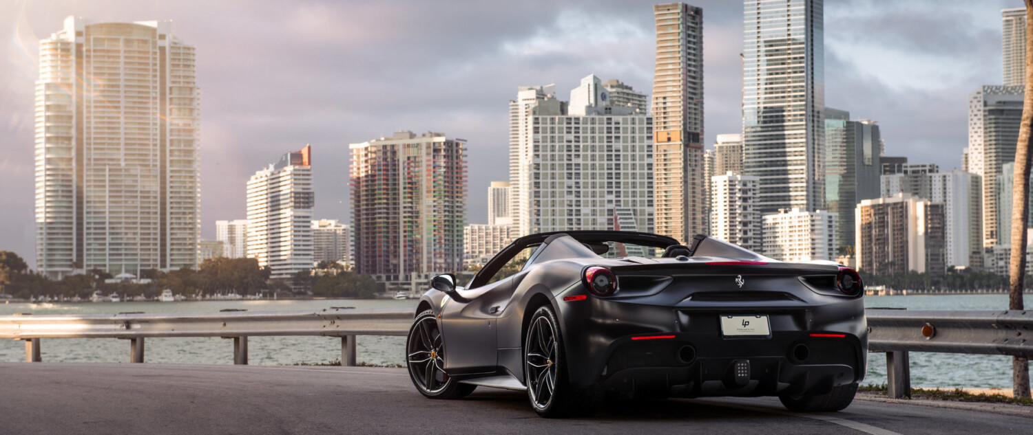 Exotic Car Rental Miami Paramount Luxury Rentals