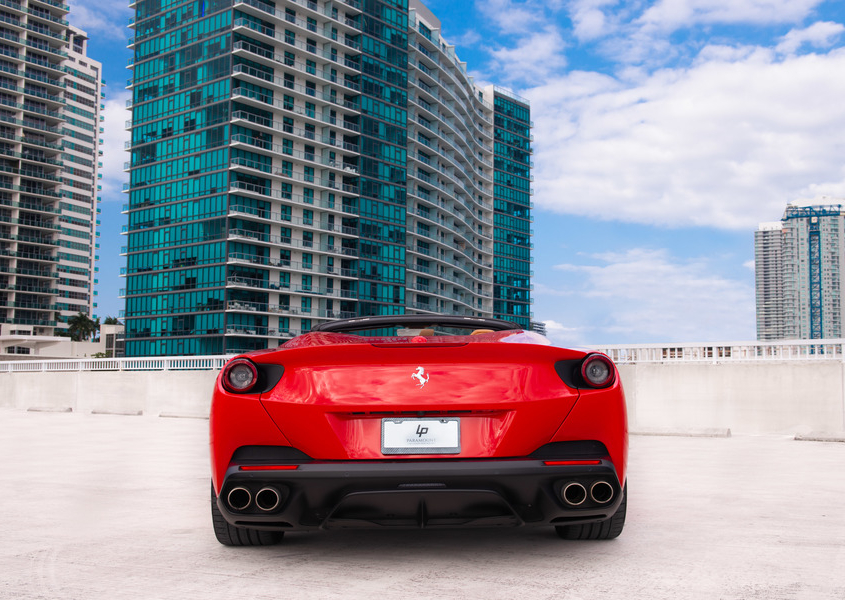 Ferrari Portofino for rent in Miami