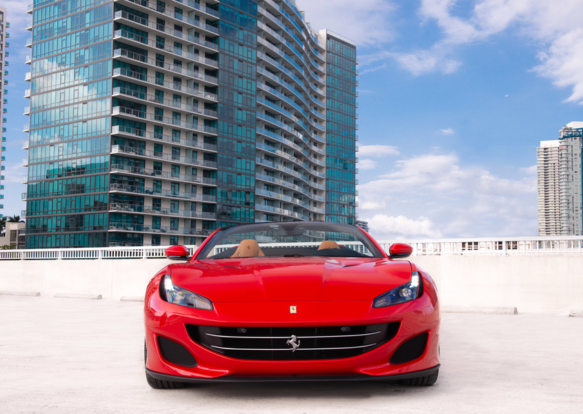 For rent Ferrari portofino