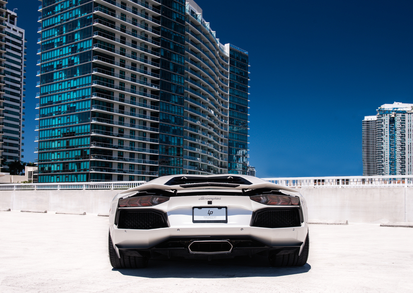Lamborghini Aventador for rent